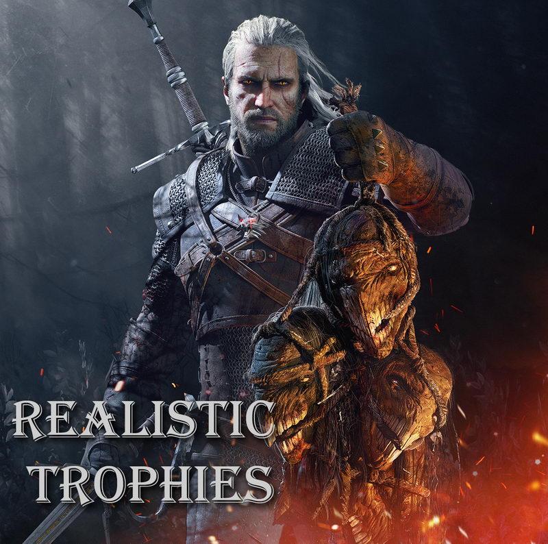 Realistic-Trophies-Wiedzmin-3-mody
